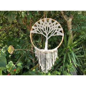 Macrame Tree of Life. - Unique Imports brought to you by Pablo & Kerrie Wijaya