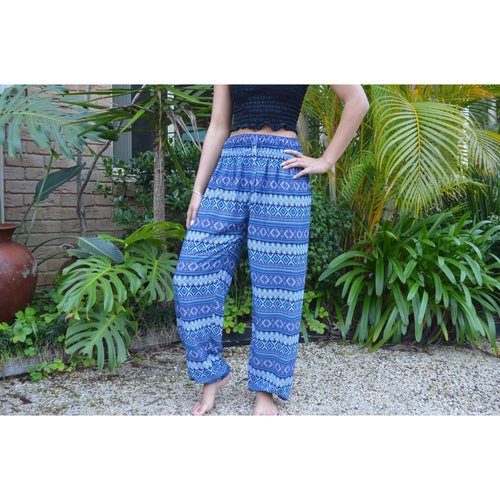 Diamond print Gypsy harem pants