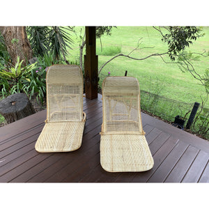 Natural Rattan beach chair - Unique Imports brought to you by Pablo & Kerrie Wijaya
