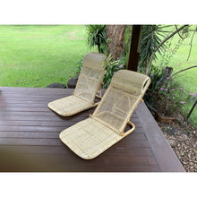Load image into Gallery viewer, Natural Rattan beach chair - Unique Imports brought to you by Pablo & Kerrie Wijaya