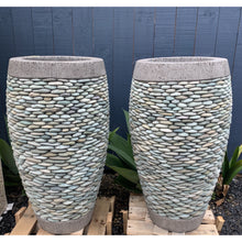 Load image into Gallery viewer, Balinese Riverstone pots