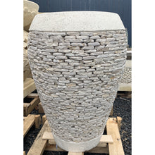 Load image into Gallery viewer, Balinese white onyx stacker stone pots