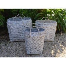 Load image into Gallery viewer, Palm leaf Basket set - Unique Imports brought to you by Pablo & Kerrie Wijaya
