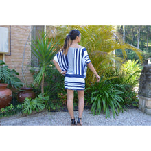 Load image into Gallery viewer, Striped Kaftan Dress - Unique Imports brought to you by Pablo & Kerrie Wijaya