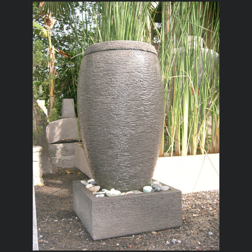 Cylinder Water Feature