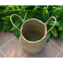 Load image into Gallery viewer, Pandan Leaf  belly Basket. - Unique Imports brought to you by Pablo & Kerrie Wijaya