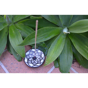 Round Motif incense holders - Unique Imports brought to you by Pablo & Kerrie Wijaya