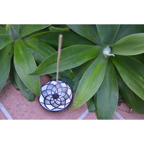 Round Motif incense holders