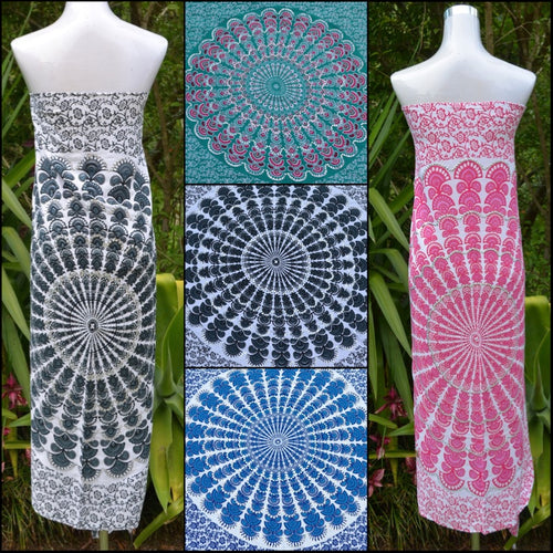 Sequin Mandala Sarongs - Unique Imports brought to you by Pablo & Kerrie Wijaya