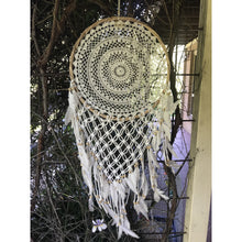 Load image into Gallery viewer, V Dream catcher twisted Natural - Unique Imports brought to you by Pablo & Kerrie Wijaya