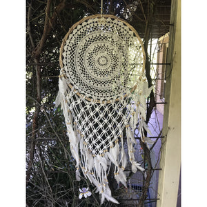 V Dream catcher twisted Natural