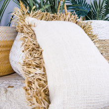 Load image into Gallery viewer, Cotton & seagrass cushion cover