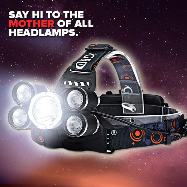 Ultimaxima Ultra 3500 Lumen Headlamp