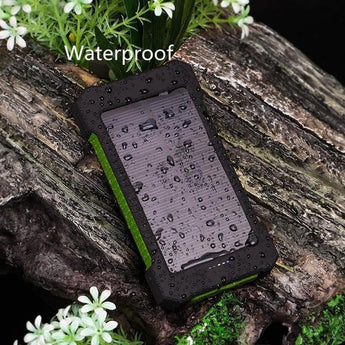 InfinityLife Waterproof Solar Power Bank