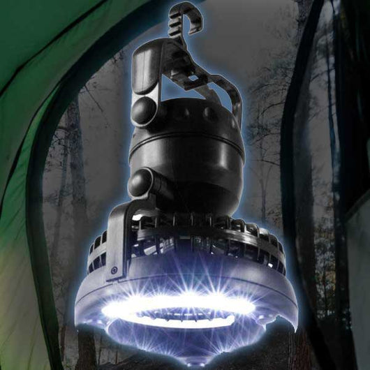 Clingon Tent Hook LED Fan Light