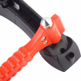 Survivalist Seat Belt Cutter and Window Breaker Tool