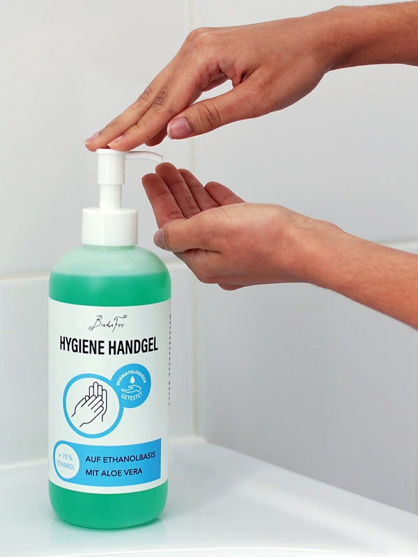 Hygiene Handgel 500 ml Pumpsender