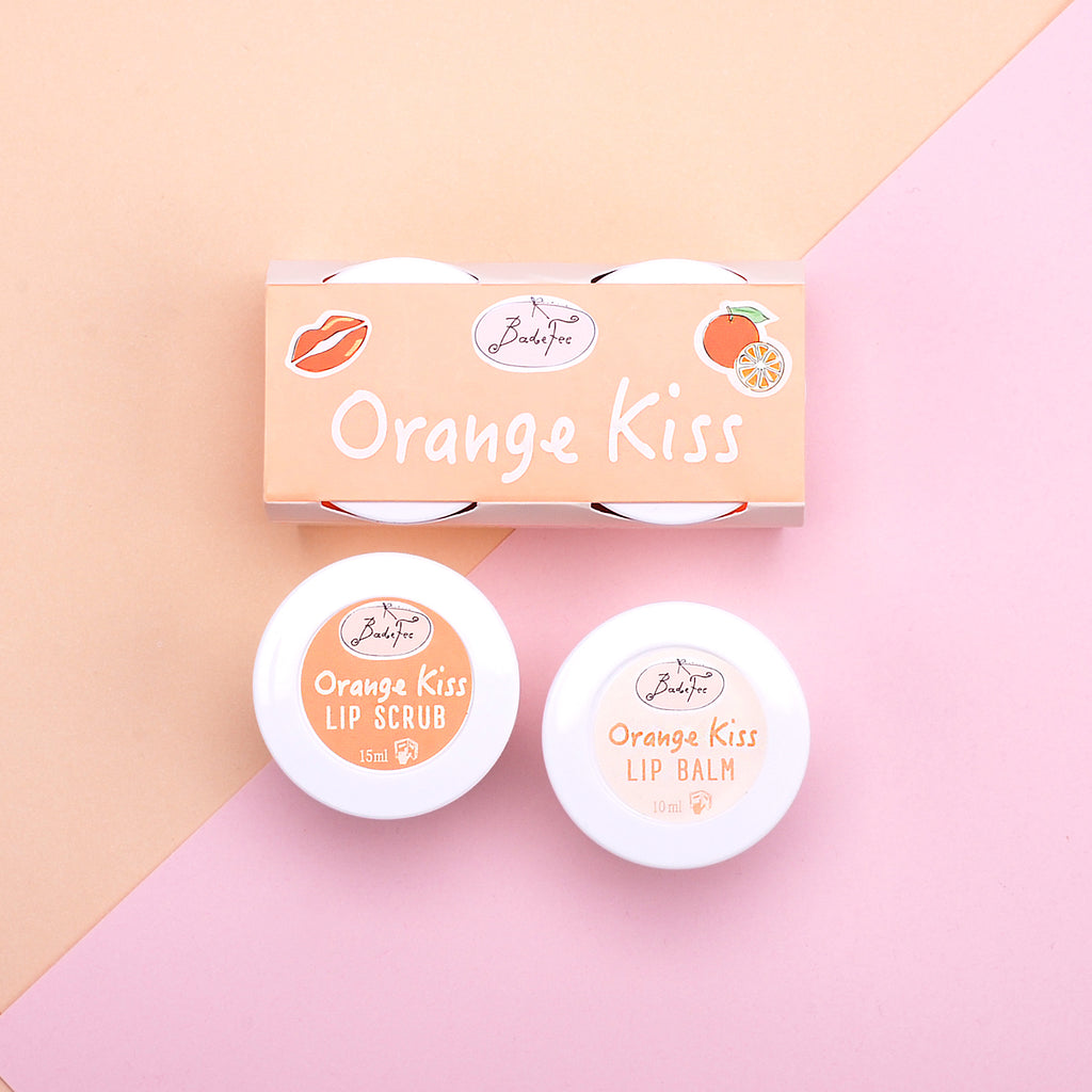 Lippenpflege Duo Orange Kiss