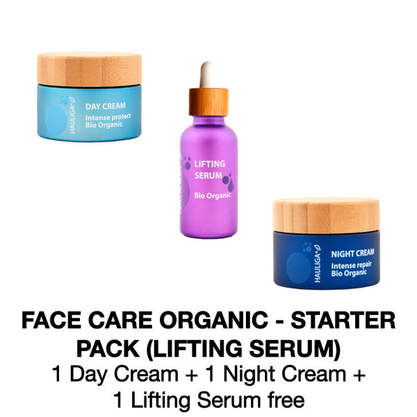 Pack - Organic face routine