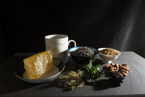 Wink and Rise Foods for Sleep Honey, Lavender, Chamomile, Almonds, Hops