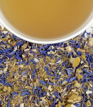 Yellow and Blue tea