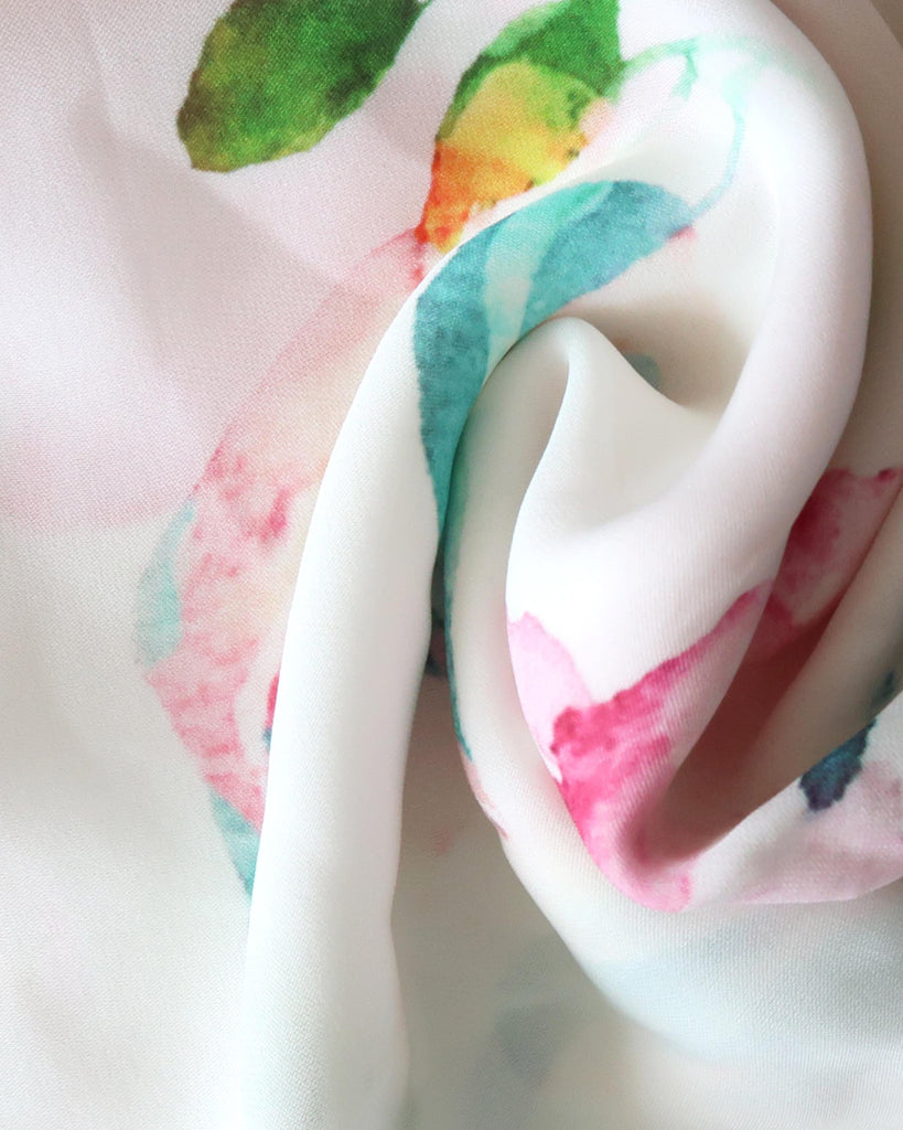 AC10001 - SILK BLEND SCARF - accessories - scarves - Made from leftover fabric from our Summer 2020 collection, these scarves are the perfect addition to your warm weather wardrobe. Choose from 7 different colorways. Style as a head scarf, tie it on your beach bag, or just throw around your neck.The possibilities are endless. Alternate View
