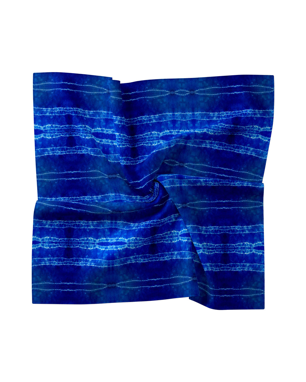 AC10002 - SHIBORI STRIPE SILK BLEND SCARF - accessories - scarves - Made from leftover fabric from our Summer 2020 collection, these scarves are the perfect addition to your warm weather wardrobe. Choose from 7 different colorways. Style as a head scarf, tie it on your beach bag, or just throw around your neck.The possibilities are endless.