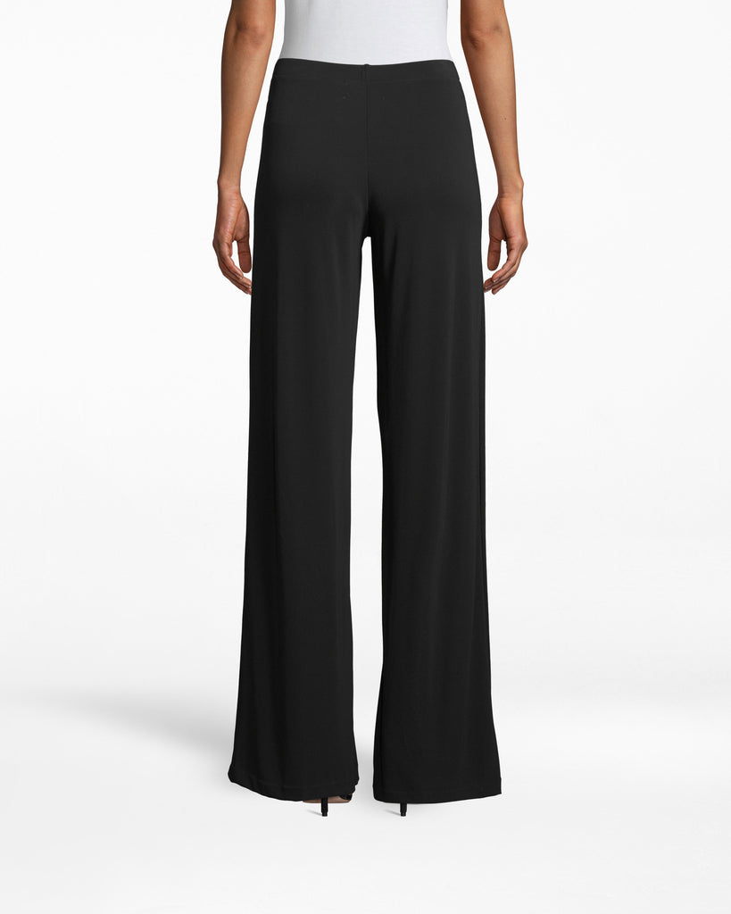 BD10093 - STRETCHY MATTE JERSEY EMMA PANT - bottoms - pants - SKYHIGH. THAT�S HOW YOUR LEGS WILL LOOK IN THESE SLIMMING PANTS. WIDELEGS WITH A FLOORLENGTH HEMLINE CREATE THE PERFECT SILHOUETTE. Alternate View