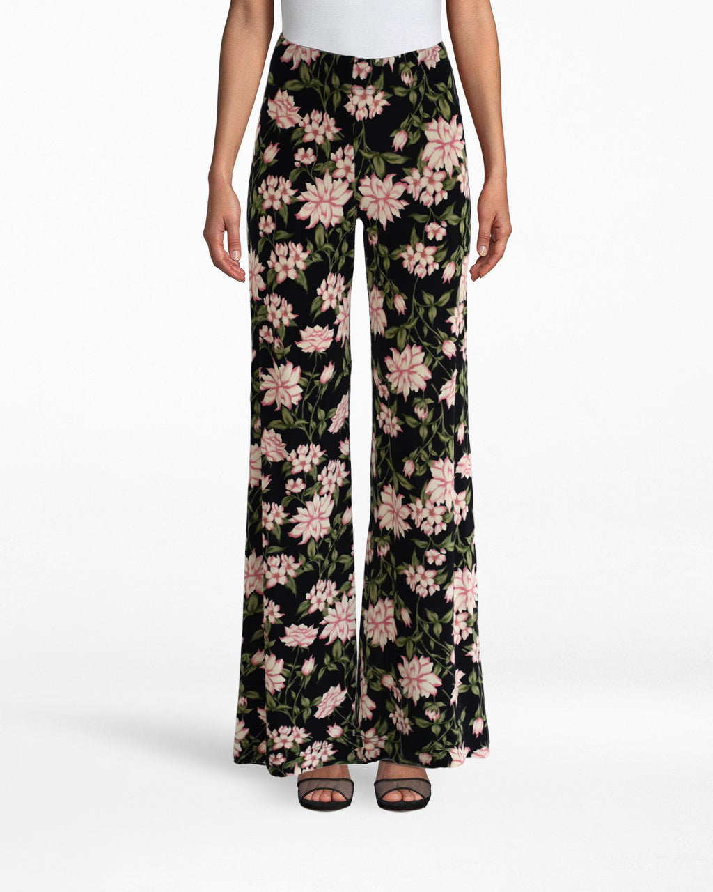 BG10340 - SPRING DREAM WIDELEG PANT - bottoms - pants - YOU PROBABLY HAVE SOME STATEMENT TOPS... SO WHY NOT STATEMENT PANTS? THESE ANKLE SKIMMING WIDELEG PANTS ARE LIGHTWEIGHT AND PERFECT FOR SPRING. PAIR WITH THE SPRING DREAM TURTLENECK TOP FOR A TRULY STANDOUT LOOK.