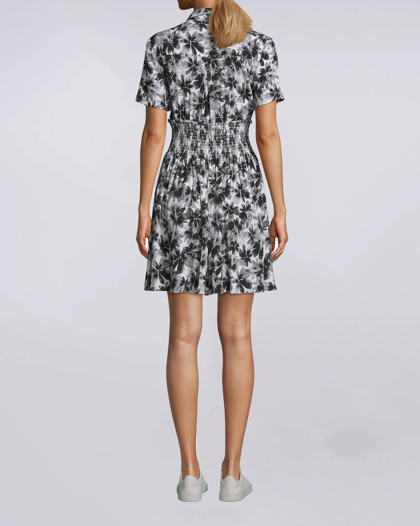 067628f2bb ... BH10465 - Painted Flowers Smocked Flare Dress - dresses - long - The  ultimate weekender dress