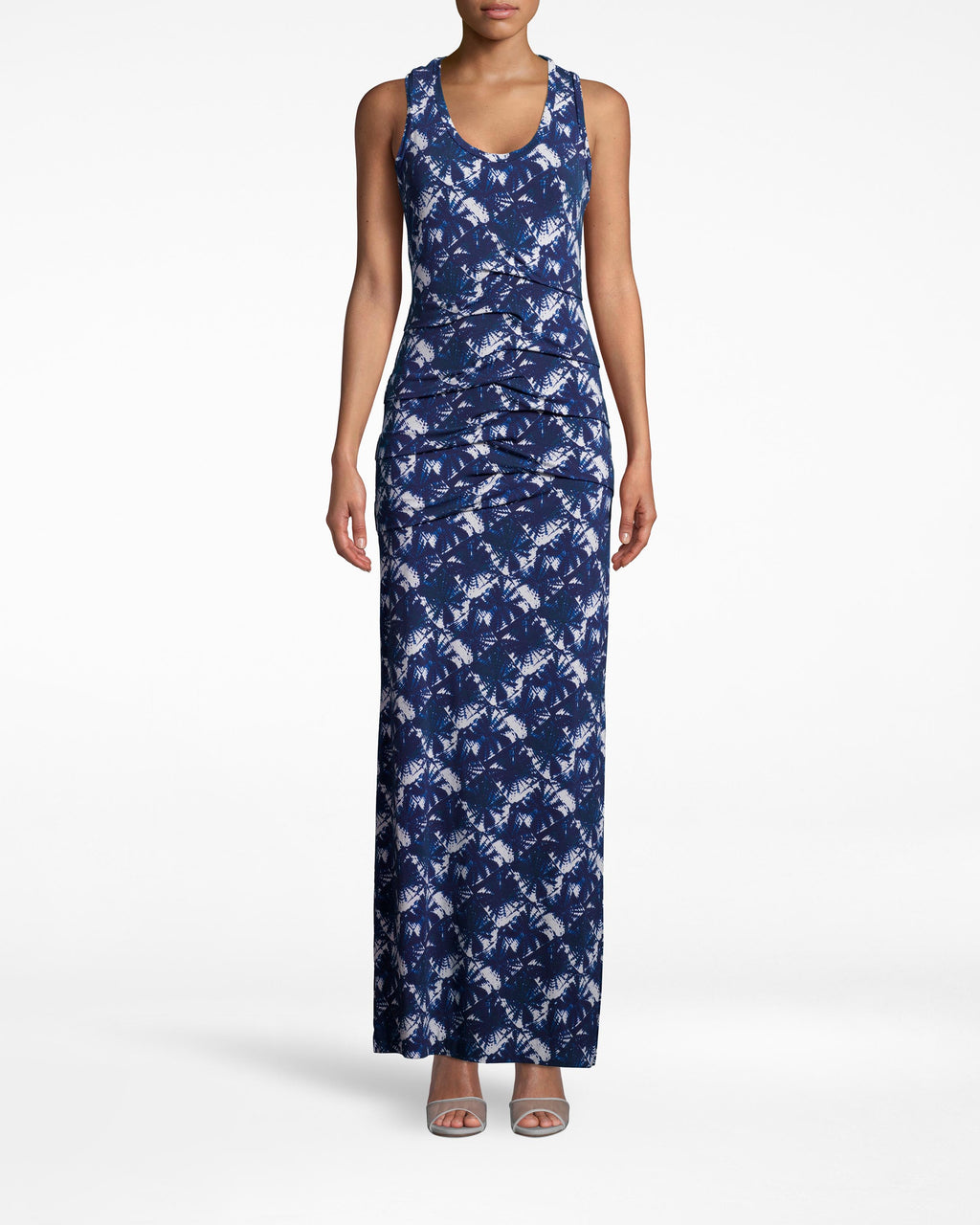BL10165 - SHIBORI PINWHEEL VANESSA TIDAL PLEAT MAXI - dresses - long - FEATURING A SCOOP NECK AND A FLATTERING PLEATED FRONT, THE VANESSA DRESS IS THE PERFECT SPRING MAXI. DESIGNED IN OUR NEW SHIBORI PINWHEEL PRINT IN MATTE JERSEY. PAIR WITH STRAPPY SANDALS OR HEELS.