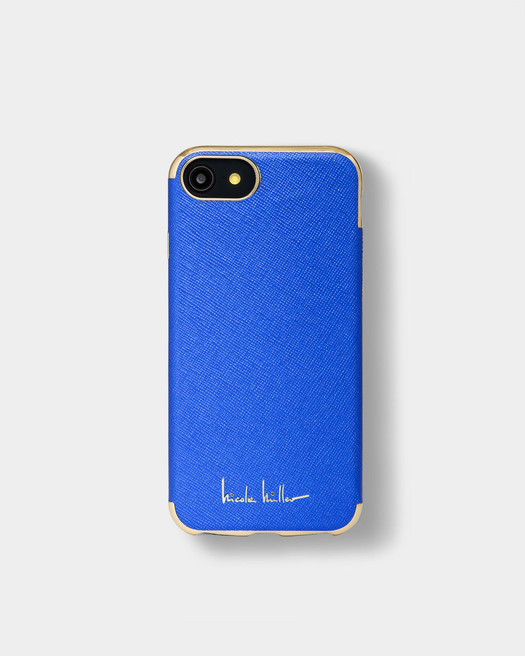 CHBLG01 - IPHONE CROSSHATCH 6/6s/7/8 case - accessories - fashion tech - IN A BLUE CROSSHATCH, THIS HARDSHELL CASE IS A CLASSIC.