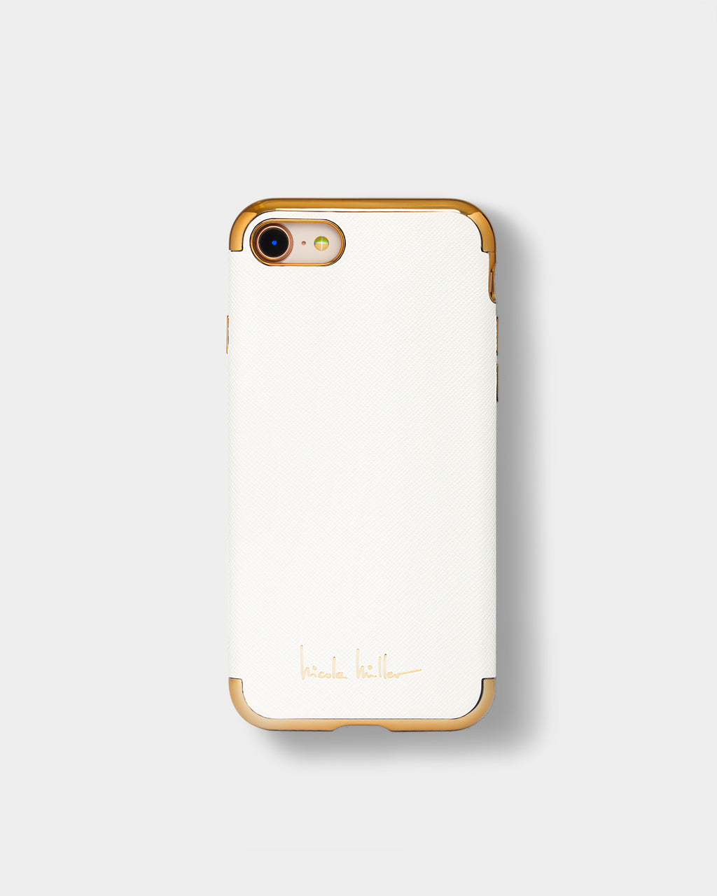 CHWRG01 - WHITE CROSSHATCH IPHONE 6/6s/7/8 case - accessories - fashion tech - IN A WHITE CROSSHATCH, THIS IPHONE CASE IS A MODERN CLASSIC