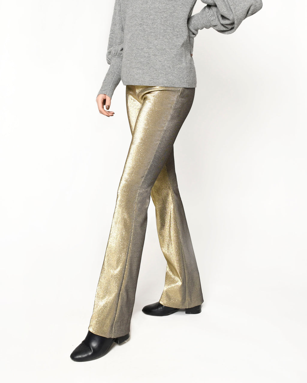 CP18466 - SPARKLE PULL ON PANTS - bottoms - pants - THE ULTIMATE PARTY PANTS. THESE STRAIGHT LEG PANTS ARE DUSTED IN A GOLD SPARKLE THAT DOESN'T FLAKE OFF AND HAVE AN ULTRA SOFT LINING. THE HIGH WAISTBAND FITS AND FLATTERS YOUR CURVES. Add 1 line break STYLIST TIP: PAIR WITH A BLACK CAMI TOP AND HEELS.