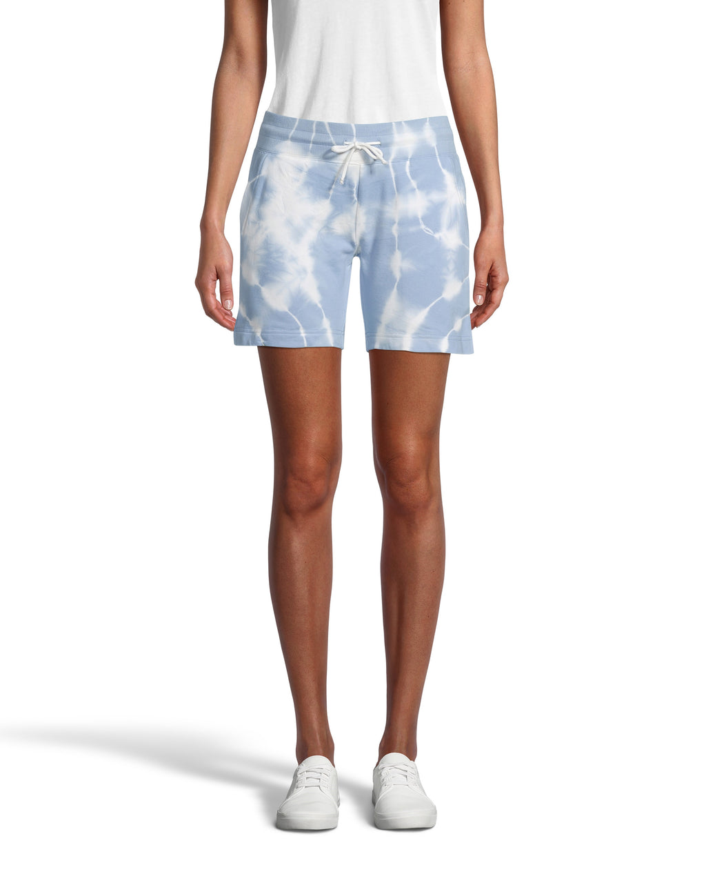 CP18568 - TIE DYE DRAWSTRING SHORTS - bottoms - shorts - For running errands to lounging on the couch and everything in between. Made from incredibly soft 100% cotton and featuring an adjustable drawstring waist. Add 1 line break Stylist Tip: Style with sneakers and a white tee for a cute but comfortable on-the-go look.