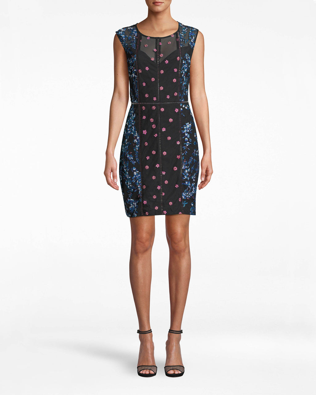 Blossom Embellished Sheath Dress Image 1