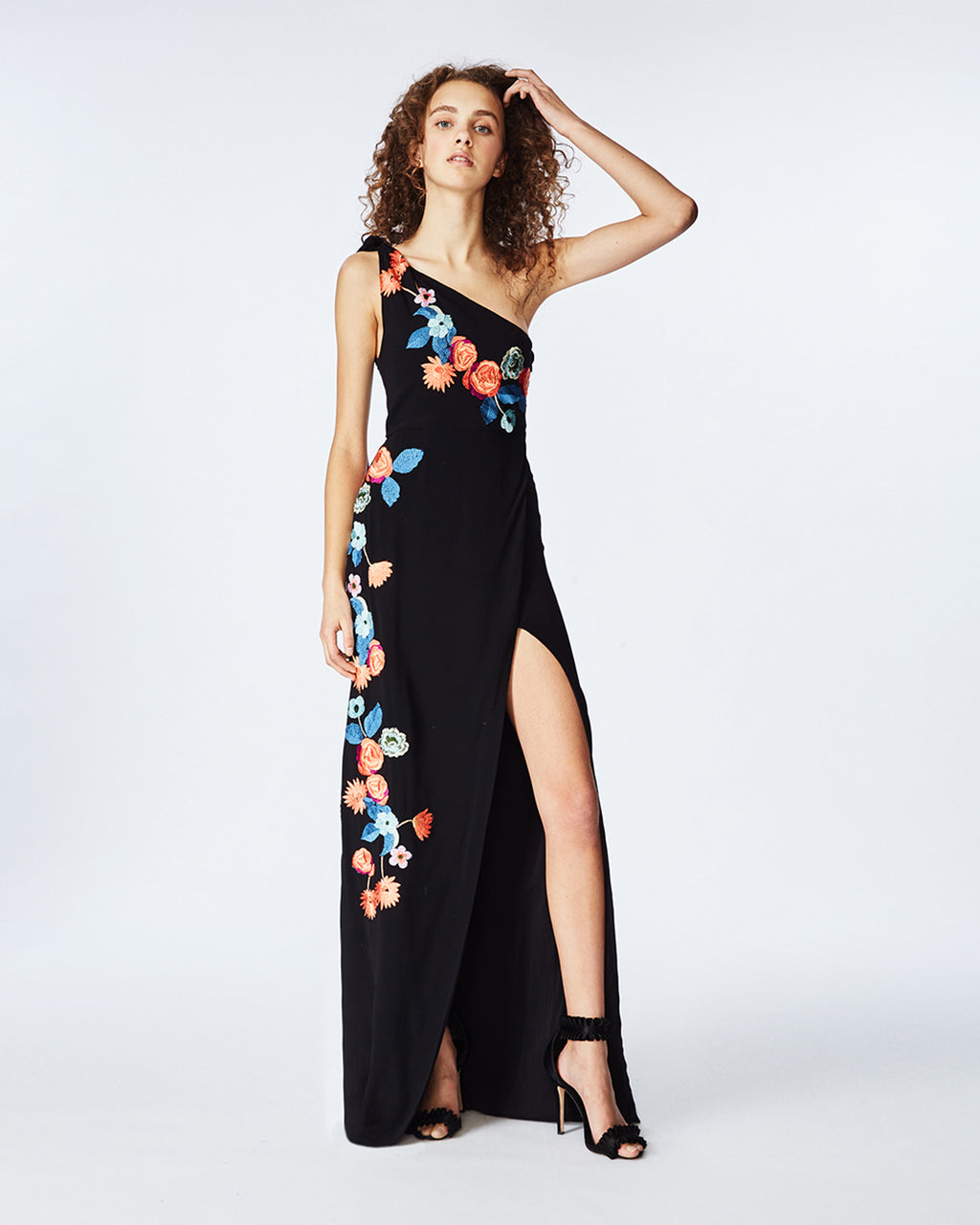 05407140f15 EK10019 - DAYDREAM EMBROIDERED GOWN - dresses - long - Colorful embroidered  flowers bring a pop ...