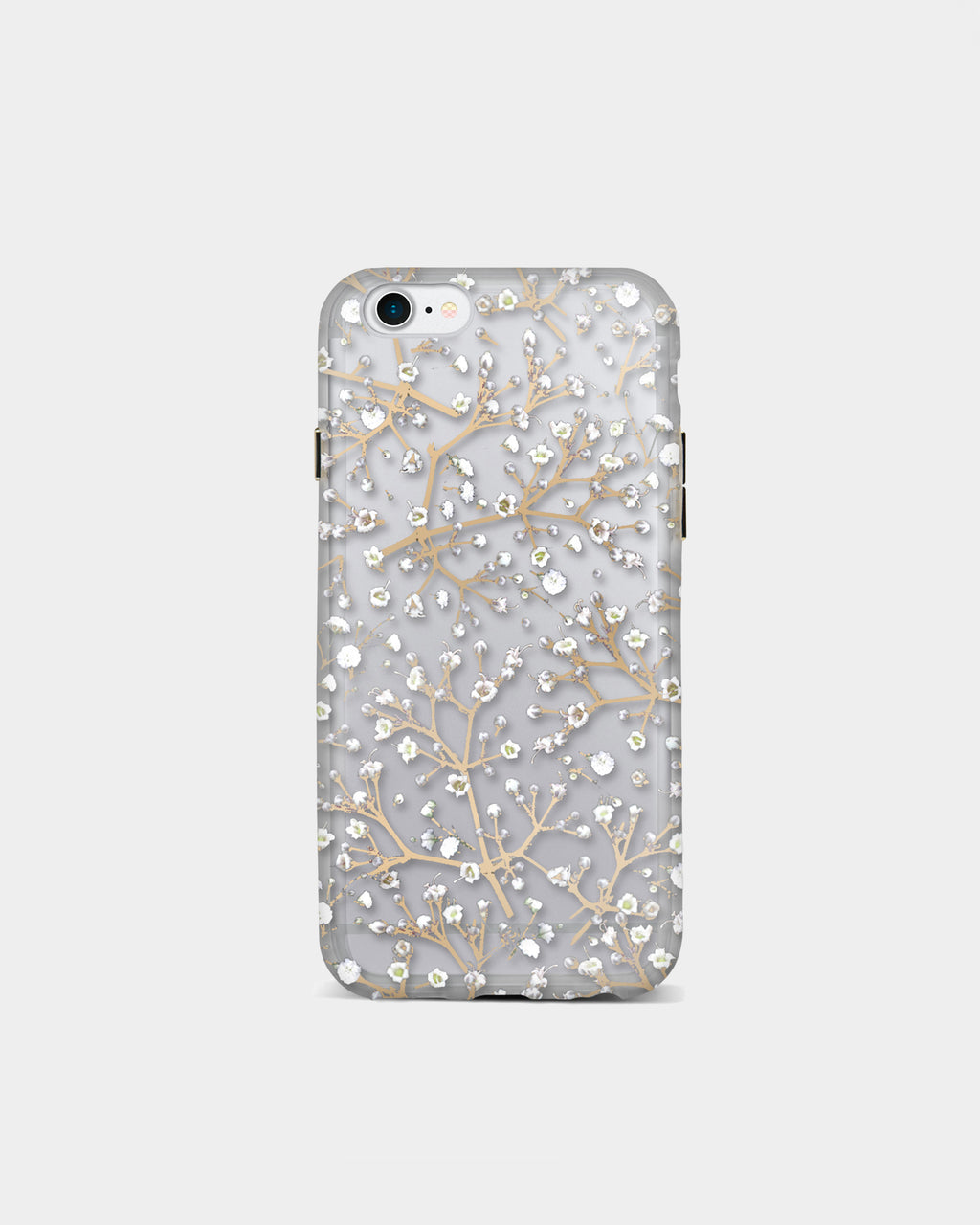 IC7004 - FLORAL iPHONE 7 case - accessories - fashion tech - This clear case, finished in a baby's breath print is made for the iPhone 7.