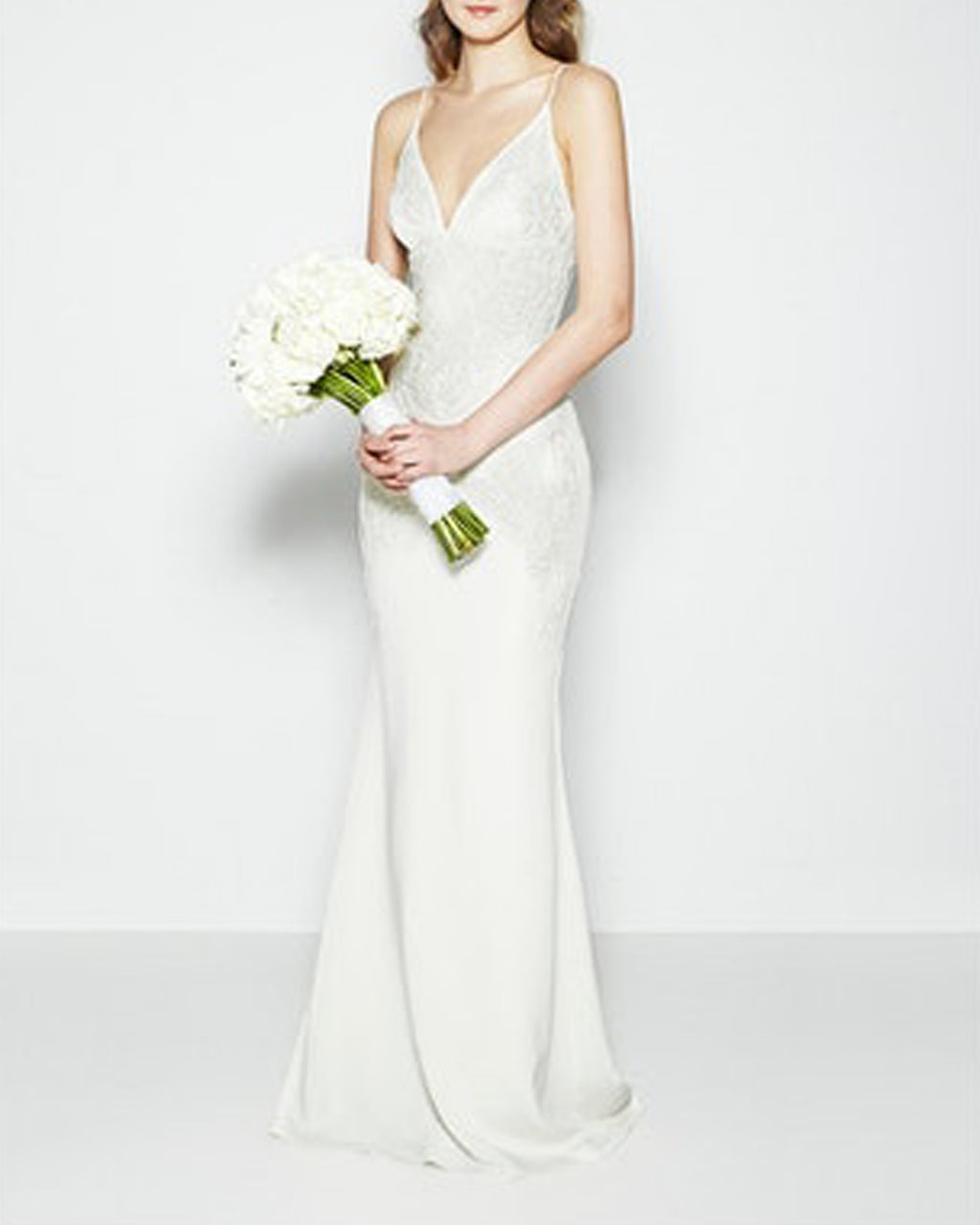KS10000 - ANNABEL BAROQUE BEADED HEAVY STR CDC - samples - bridal - Final Sale Add 1 line break BRIDAL GOWN