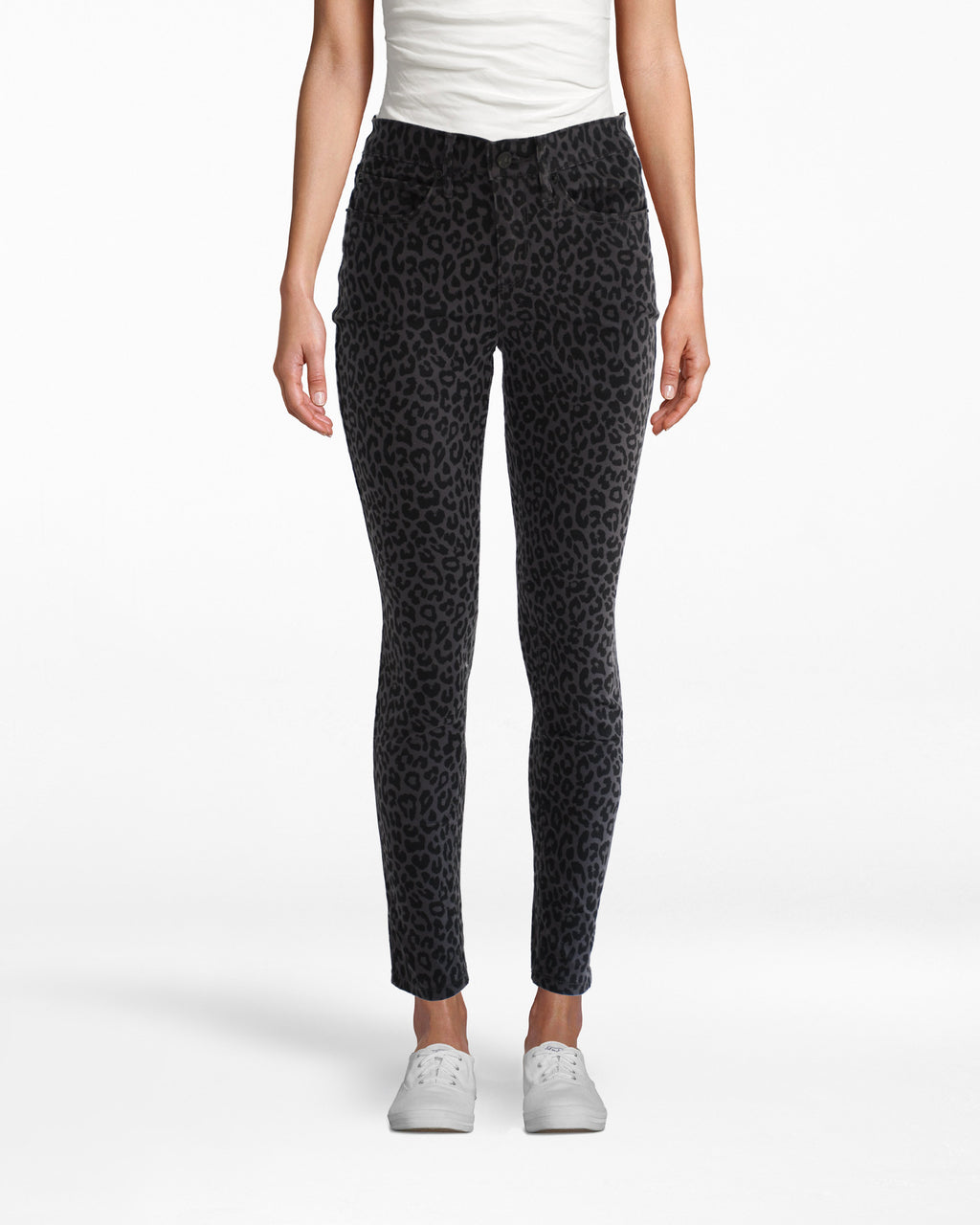 LP18223 - LEOPARD SKINNY JEAN - bottoms - denim - The new neutral. Our leopard print skinny jeans are made from super soft denim and go with just about everything. Add 1 line break Stylist Tip: Wear with an oversized sweater and sneakers for a chic city look.