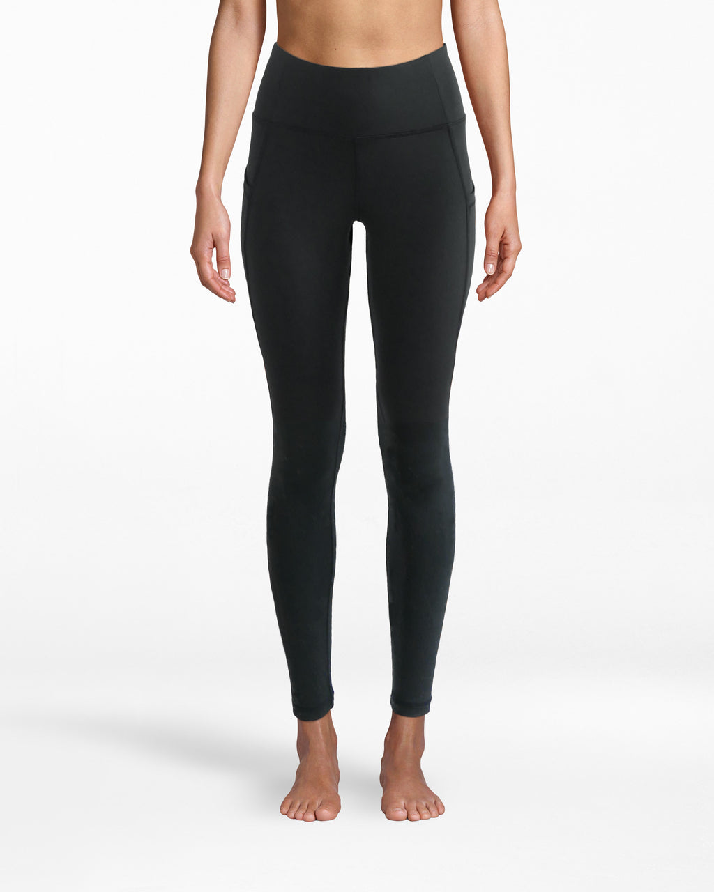 "N8ZN002 - Solid 7/8 Legging - activewear - activewear bottoms - Leggings over jeans. These are solid sport pants that have a 25.5"" leg and sculpting, smooth fit. Pair with a sports bra for yoga and blazer for the meeting after."