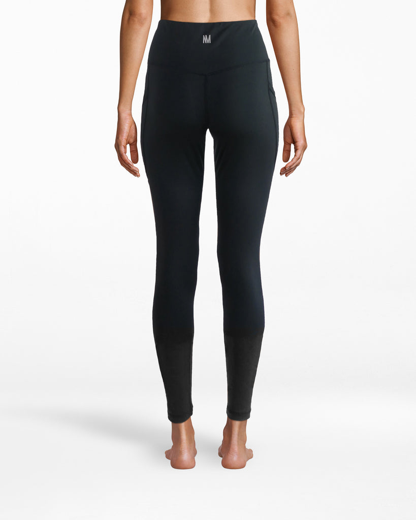"N8ZN002 - Solid 7/8 Legging - activewear - activewear bottoms - Leggings over jeans. These are solid sport pants that have a 25.5"" leg and sculpting, smooth fit. Pair with a sports bra for yoga and blazer for the meeting after. Alternate View"