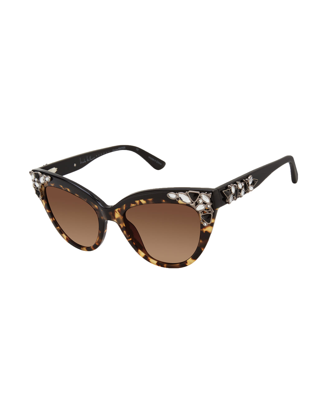 NMCORSI - CoRSICA RUNWAY SUNGLASSES - accessories - sunglasses - THESE CATEYE SUNGLASSES FEATURE CRYSTALS AND A SLEEK DESIGN. 100% UVA/UVB.