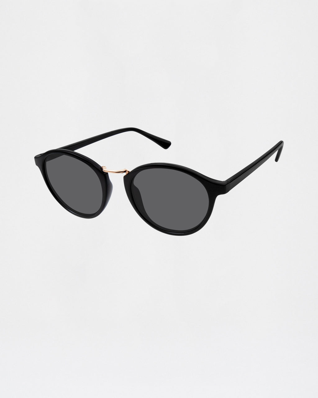 NMNYCA1 - CANYON LAKe SUNGLASSES - accessories - sunglasses - BLACK AND TORTOISE ROUND FRAME 100% UVA/UVB