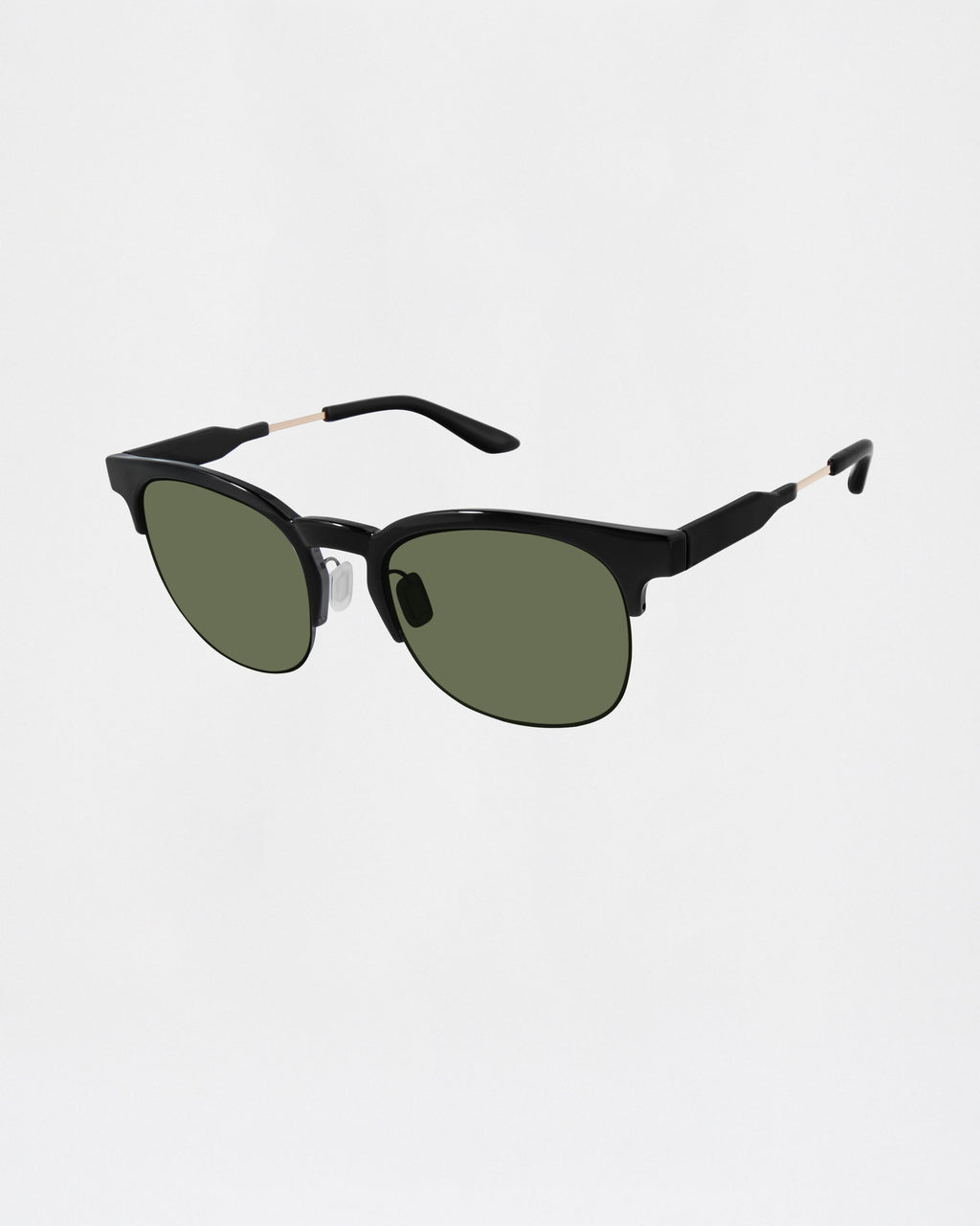 NMNYCP1 - Capistrano Sunglasses - accessories - sunglasses - BLACK CLUBMASTER FRAME 100% UVA/UVB