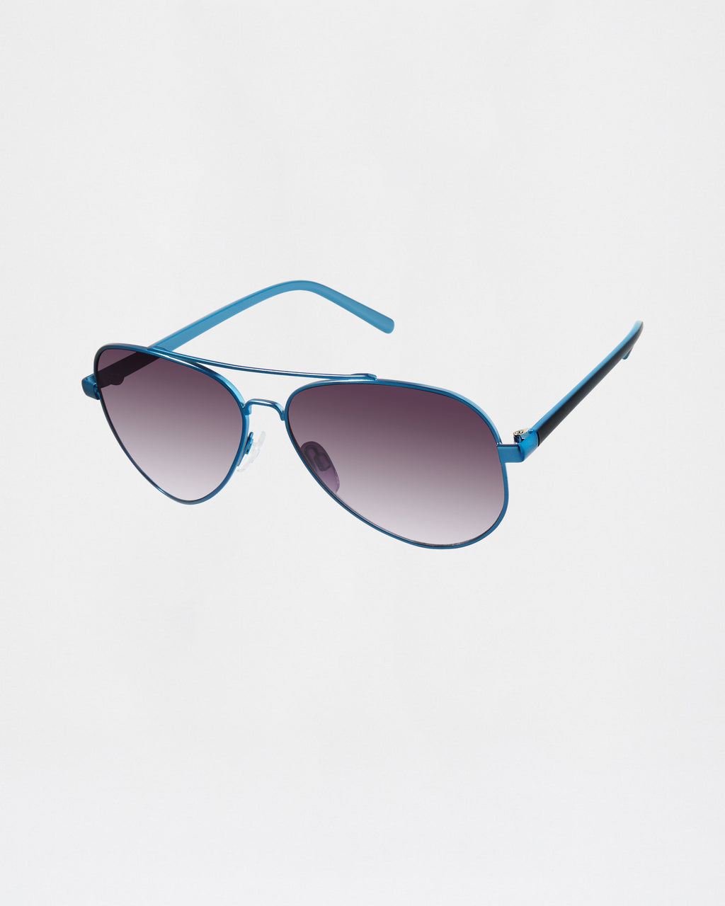 NMNYCT2 - catalina sunglasses - accessories - sunglasses - AQUA AND BLACK AVIATOR FRAME 100% UVA/UVB