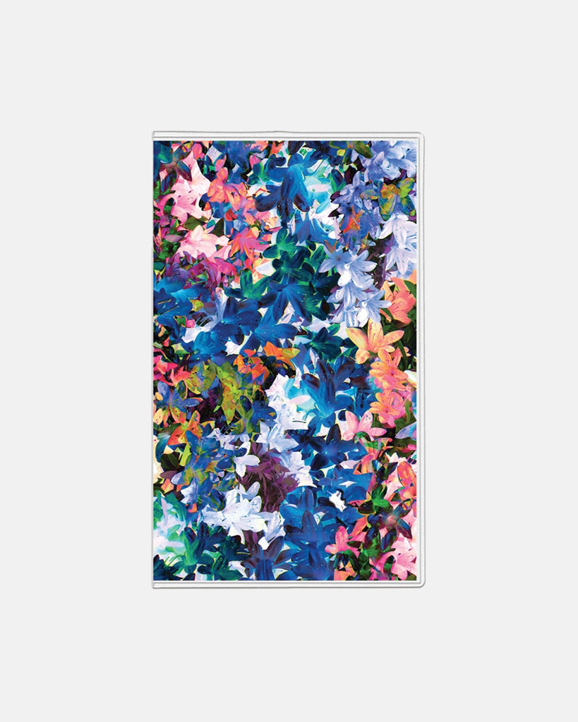 "PP10025 - Tie-Dye Flowers 2019 Weekly And Monthly Planner - 3 5/8"" X 6 1/8"" - accessories - stationary - 12 months, january to december 2 pages per month pages are wirebound with a polypropylene cover untimed appointments allow you to maintain a customized schedule Alternate View"