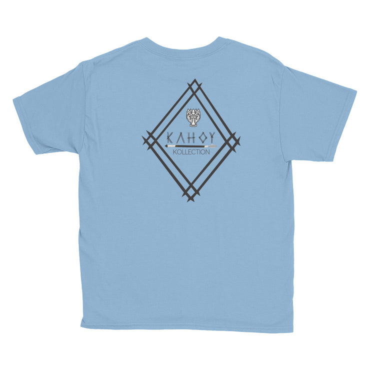 Kahoy Emblem and Coat of Arms Youth Short Sleeve T-Shirt