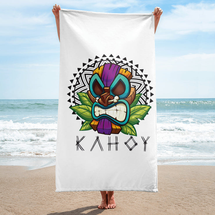 Tiki 30X60 Beach Towel