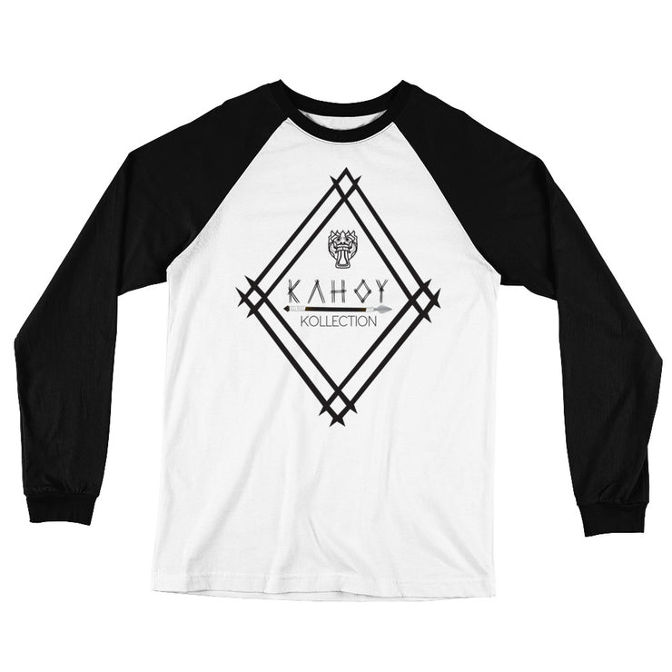 Kahoy Kollection Coat of Arms Long Sleeve Baseball T-Shirt